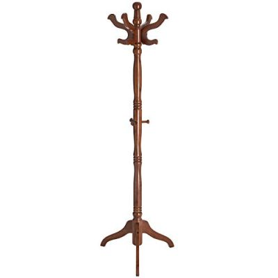 VASAGLE Coat Rack Free Standing with 11 Hooks