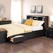 Prepac Full Mate's Platform Storage Bed