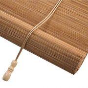 CHAXIA Roller Blind Bamboo Shade Environmental Protection Anti-Moth