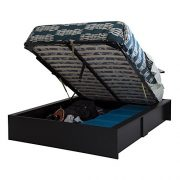 South Shore Step One Ottoman Storage Bed, Queen 60-Inch
