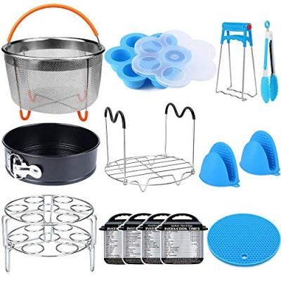 15 Pieces Pressure Cooker Accessories Set Compatible with Instant Pot Accessories