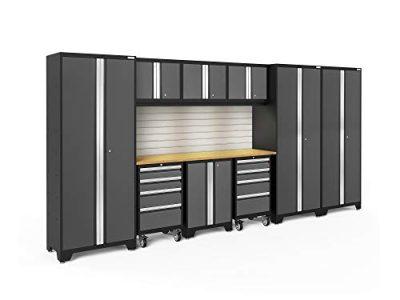 NewAge Products Inc. Bold 3.0 Garage Cabinets, Include Lights/Include Backsplash