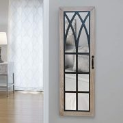 FirsTime & Co. Rustic Arch Jewelry Armoire Accent Wall Mirror