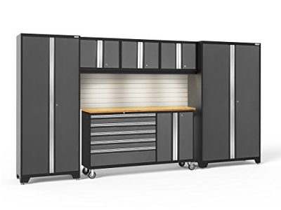 NewAge Products Bold 3.0 Gray 6 Piece Set, Garage Cabinets