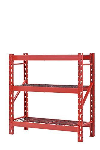Muscle Rack 3-Shelf Welded Steel Garage Storage Shelving Unit