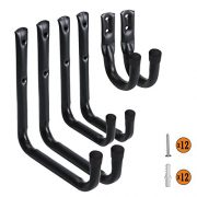 Heavy Duty Garage Hooks and Hangers Organizer - Wall Mount Garage