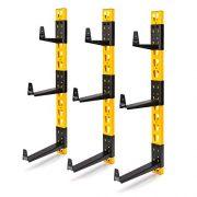 Dewalt 3-Piece Wall Mount Cantilever Rack for Workshop Shelving/Storage