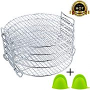 Dehydrator Stand For Ninja Foodi Accessories and Air Fryer, 6.5 & 8 qt Dehydrator
