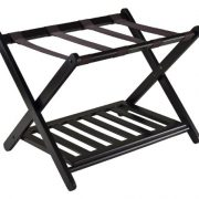 Winsome Luggage Rack with Shelf