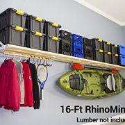 DIY RhinoMini Universal Shelf Kits for Garages & Other Applications