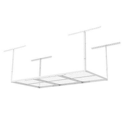 FLEXIMOUNTS 2 pcs 3x6 Overhead Garage Adjustable Ceiling Storage Rack