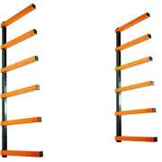 KASTFORCE Lumber Storage Rack 6-Level System 110 lbs per Level