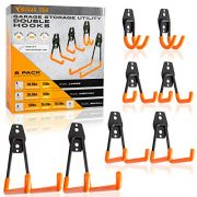 Braha USA Tool Hangers for Garage Wall - Steel Garage Storage Utility