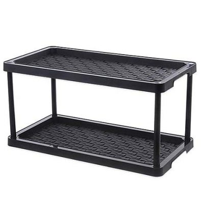 2-Tier Boot and Shoe Organizer, 100% Polypropylene, Perfect to Organize Shoes