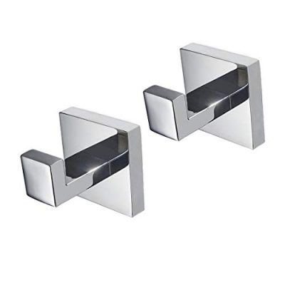 JOMAY Towel Hook for Bathroom Kitchen, Mirror Polished SUS 304 Stainless Steel