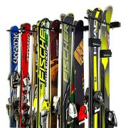 StoreYourBoard Omni Ski and Snowboard Wall Storage Rack | Holds 10 Pairs