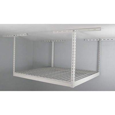 MonsterRax - 4x4 Overhead Garage Storage Rack - Height Adjustable Steel