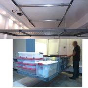Auxx-Lift Motorized Home Storage System 1400 site