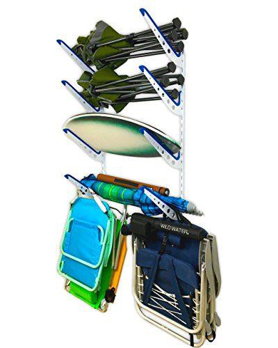 StoreYourBoard Beach Chair and Umbrella Wall Storage Rack