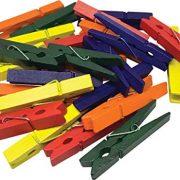 STEM Basics: Medium Multicolor Clothespins - 50 Count
