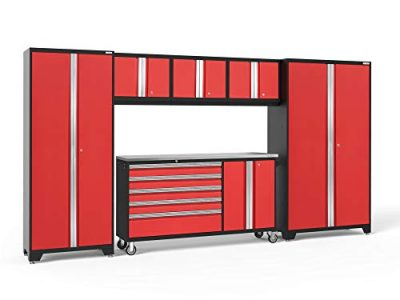 NewAge Products Bold 3.0 Red 6 Piece Set, Garage Cabinets