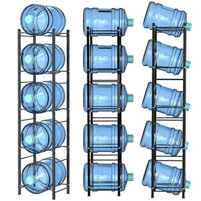 Water Racks, Msbenick 5-Tier Heavy Duty Water Bottle Storage System