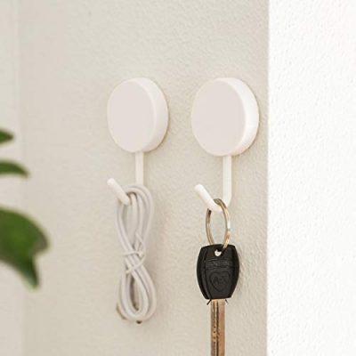 Adhesive Hooks Wall Key Hooks Holder Key Hangers for Wall Small Gadgets