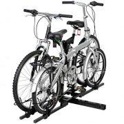 Antik shop 2 Bike Bicycle Carrier Hitch Receiver 2'' Heavy Duty Mount Rack Truck