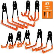 Garage Storage Utility Hooks, 9 Pcs Heavy Duty Hooks for Organizing Power Tools
