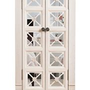 Hives and Honey Cadence Standing Jewelry Armoire, White