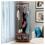 Aviat Coat Rack Free Standing Holder,Flexible Universal Pulley&Super Easy
