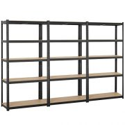 Topeakmart Adjustable 5-Shelf Garage Shelves Metal Storage Rack Shelving Unit