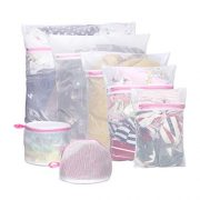 7Pcs Mesh Laundry Bags,Travel Storage Organize,Laundry Bra Lingerie Mesh