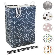 Quubik Design - Large Laundry Hamper - 24in Tall Hamper for Laundry