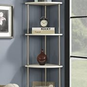 Convenience Concepts Designs2Go 4 Tier Corner Shelf