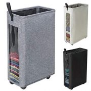 ZERO JET LAG 27 inches Slim Laundry Hamper Large Tall Laundry Basket