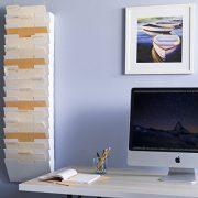 Wallniture Lisbon Wall File Holder Metal Vertical Letter Size Rack Storage Paperwork