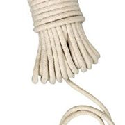 Household Essentials 04800 All-Purpose Cotton Clothesline Rope | 100Ft Length | 3/16-Inch Dia.