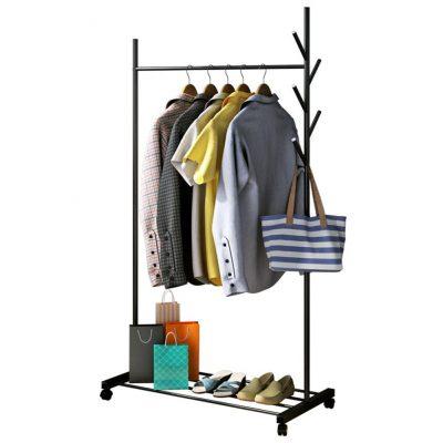 3 in 1 Drying Rack Multifunction Clothes Hanger Coat Rack