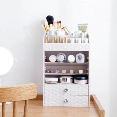 Large Makeup Organizer Cosmetic Storage Box Skin Care