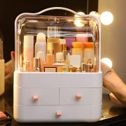 Waterproof Cosmetic Case Desktop Storage Box Jewlery Box