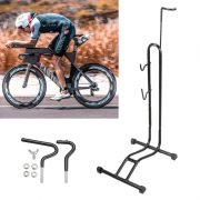Heavy L-type Bicycle Coated Steel Display Floor Rack