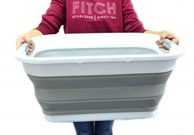 Collapsible Plastic Laundry Basket