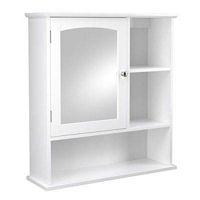 VASAGLE Mirror Cabinet, Bathroom Wall Storage Cabinet