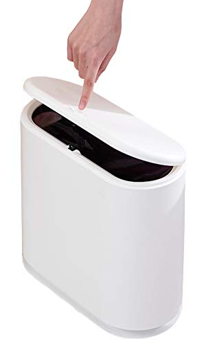 2.4 Gallon Garbage Container Bin for Bathroom