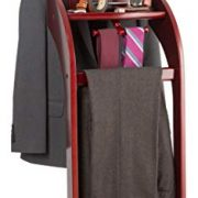 StorageMaid Clothes Valet Stand with Mirror
