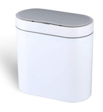 Bathroom Trash Can with Lid and Odor Filter