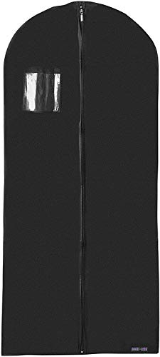 Dress Black Garment Bag Cover Hanging Carrier