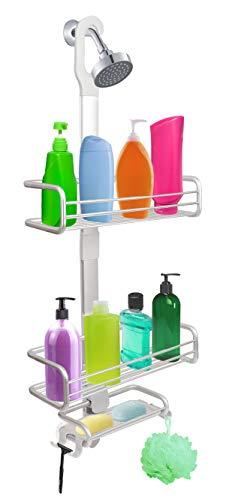 Bathroom Hanging Shower Caddy, Wishalife Rust Proof Aluminum