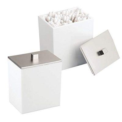 Square Bathroom Vanity Countertop Storage Organizer